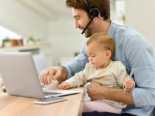 Teleworking is a type of employment contract that favors the flexibility of the worker, to reconcile with family life, and the organization of the company.